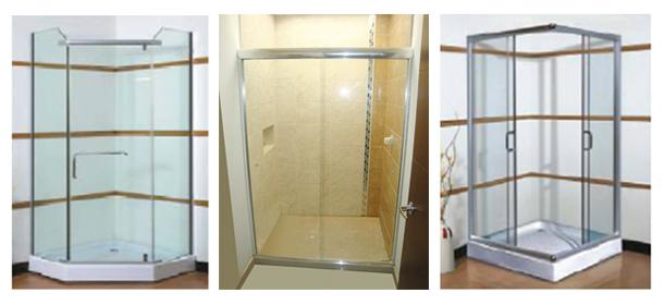 Cabinas De Baño En Vidrio Templado Medellin: Cancelería de baño ofrecemos distintos estilos de cabinas para baño